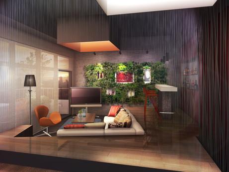 Unbuild Guest Space.  Designed by Hiroshi Nakashima