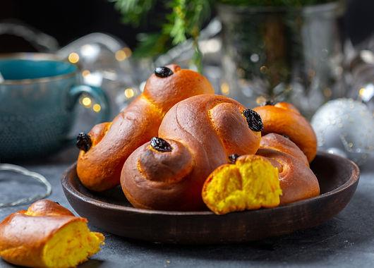 Zweeds saffraan broodje