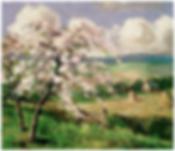 Belle de Pontoise painting by Camille Pissarro