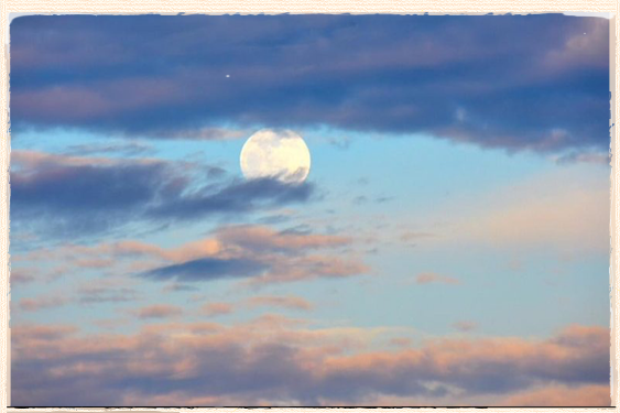 Watch For A Daytime Moon This Week