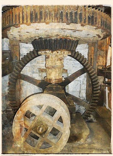 King's Mill millwheel
