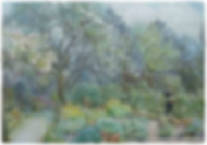 watercolour of annie elizabeth tree