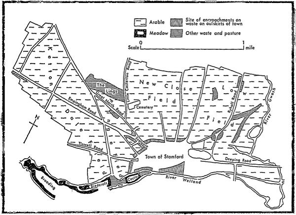 stamford's open field system