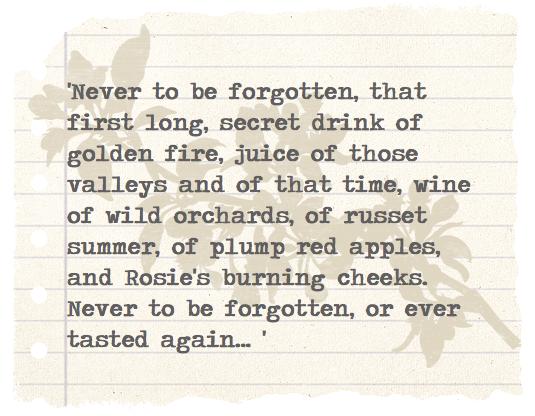 'Secret Drink Of Golden Fire'
