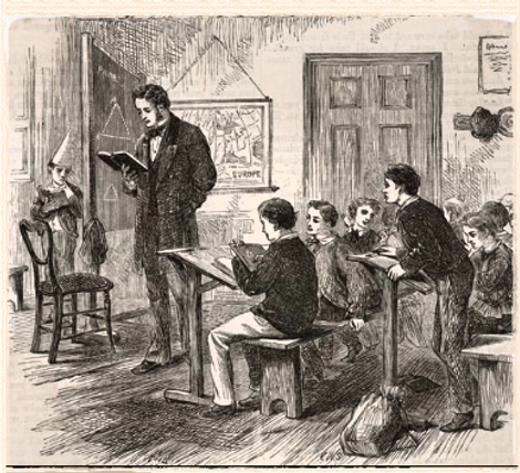 Victorian schoolmaster