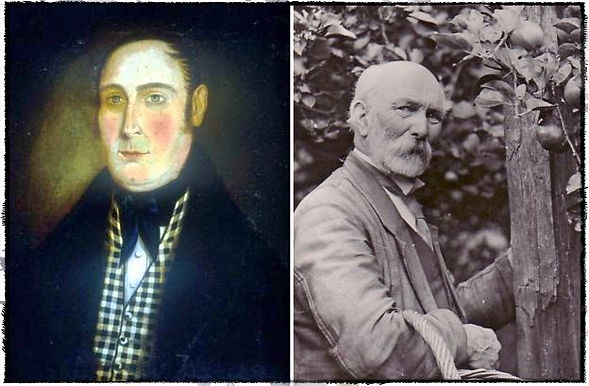 Mathew Bramley (left) and Henry Merryweather (right)