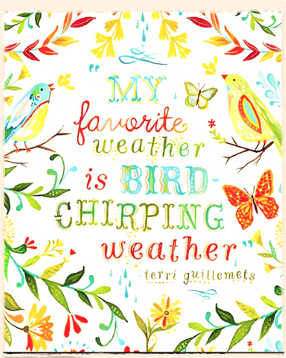 Bird-chirping Weather