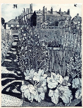 etching by Janis Goodman