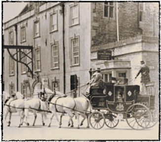 stage coach, the george stamford