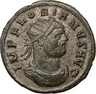 Emperor Florian coin