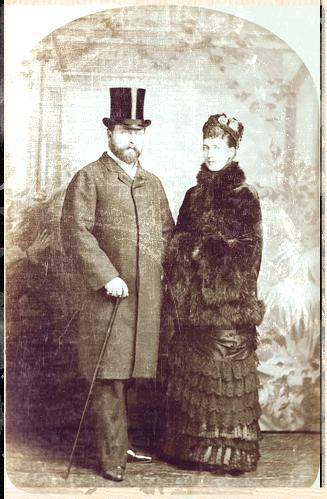 Prince and Princess of Wales 1881