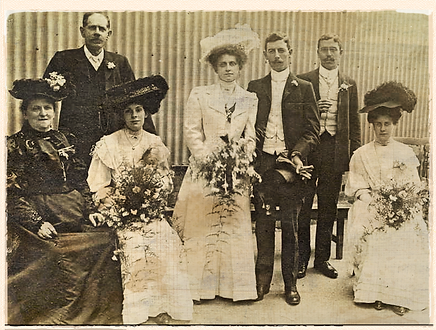 charles evans and family