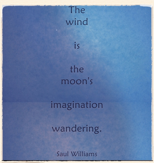 The Moon's Imagination ...