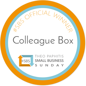 Colleague Box gets a Twitter Boost from Theo Paphitis