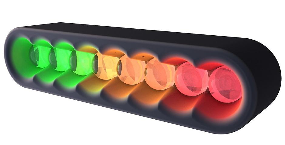 Universal Progressive LED Shift Light