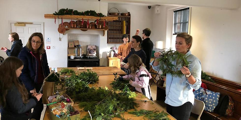 Wreath making parties