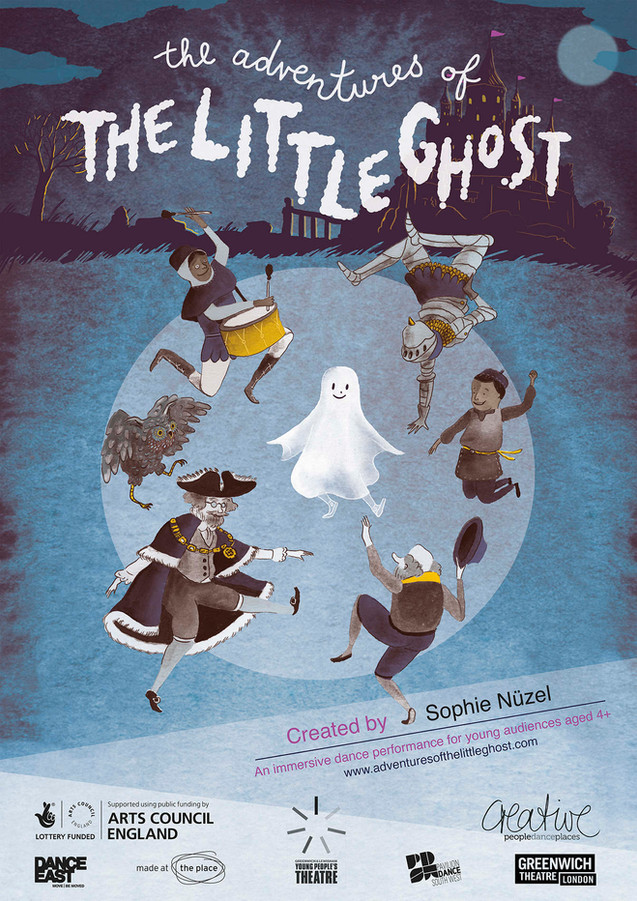 THE ADVENTURES OF THE LITTLE GHOST
