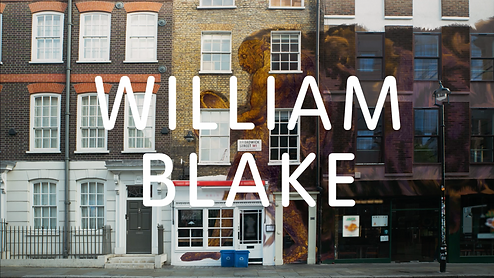 TATE BRITAIN WILLIAM BLAKE EXHIBITION TRAILER