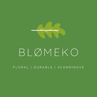 logo Blomeko bouquets fleurs séchées floral durable scandinave