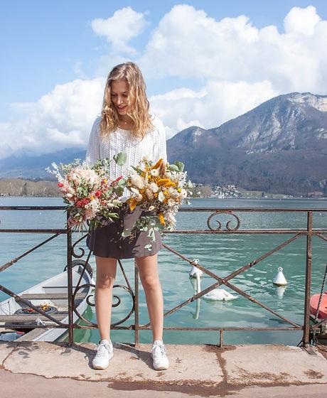 Abonnement box bouquets fleurs séchées annecy livraison france