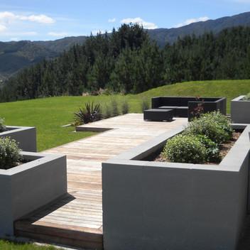 contemporary rural retreat