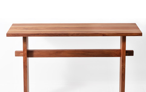 Renee Console Table in rimu and oak