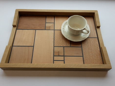 Mondrians Tea Tray