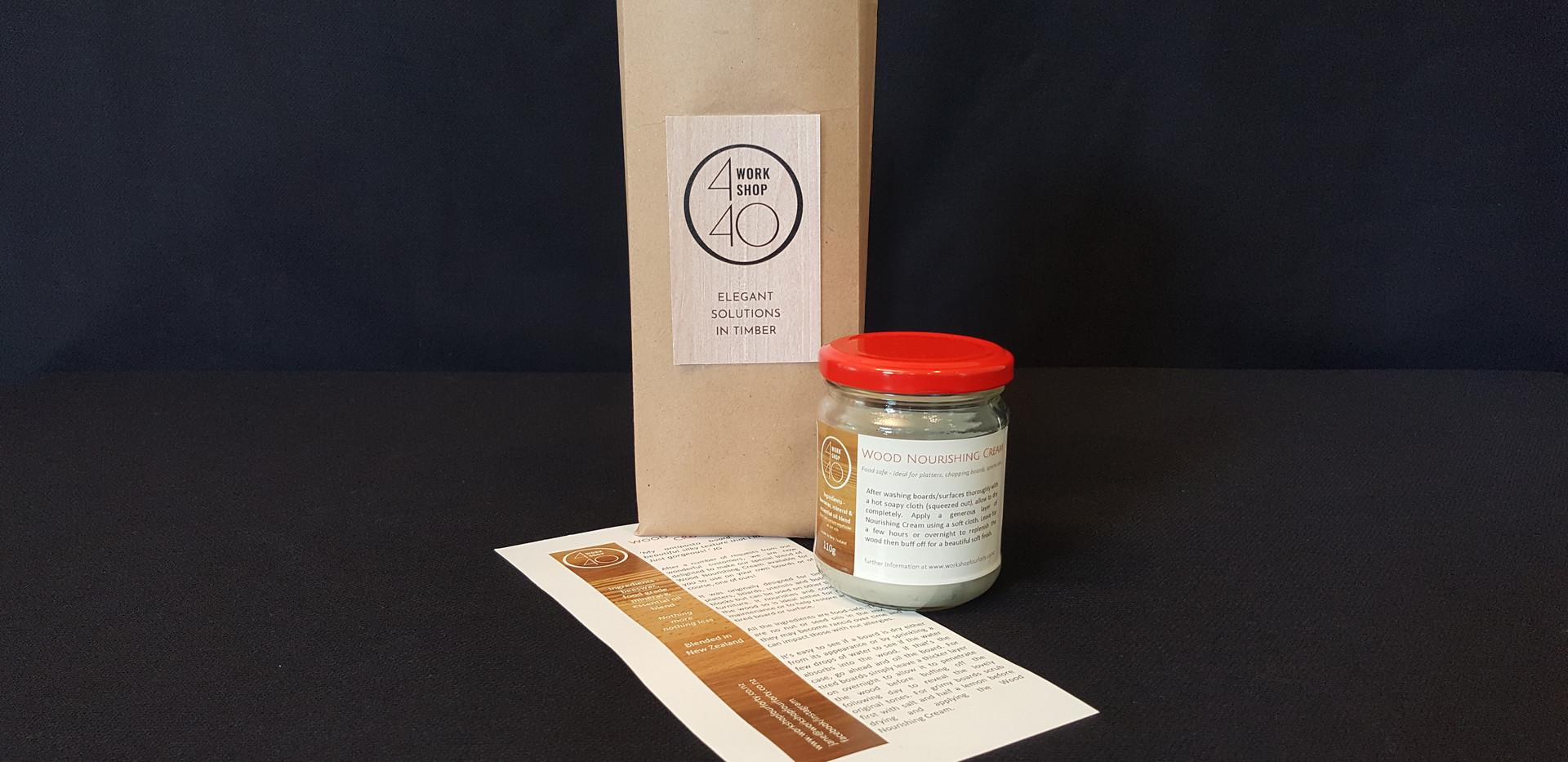 Wood Nourishing Cream