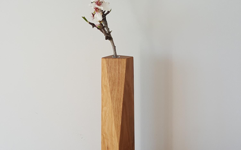 Shard vase - Oak