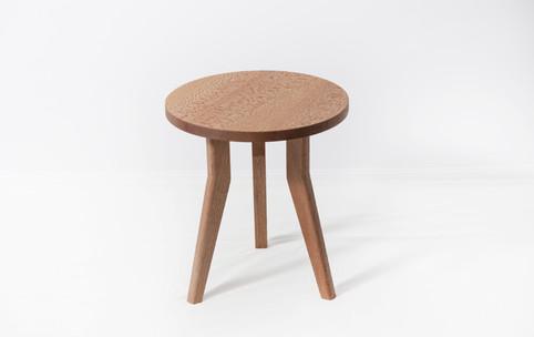 Encircle side table in rewarewa