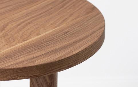 Encircle side table in oak