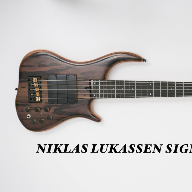 Niklas Lukassen Signature Bass by Merlos Bass Guitars