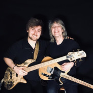 """My good friend Mike Stern & I after recording """"In The Style of Mike Stern"""""""