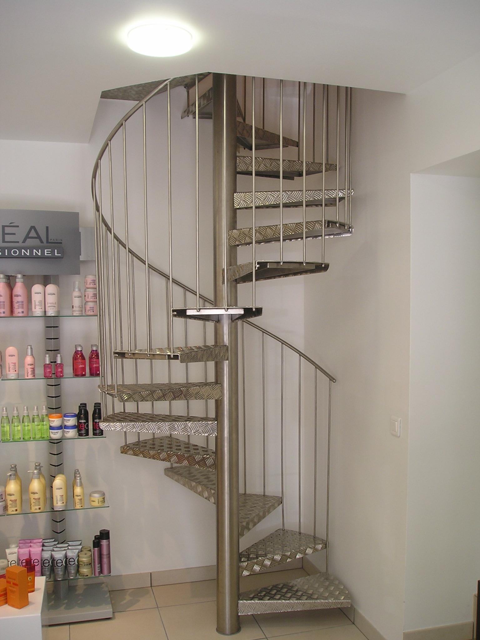 Escalier Hélicoïdal en Alu