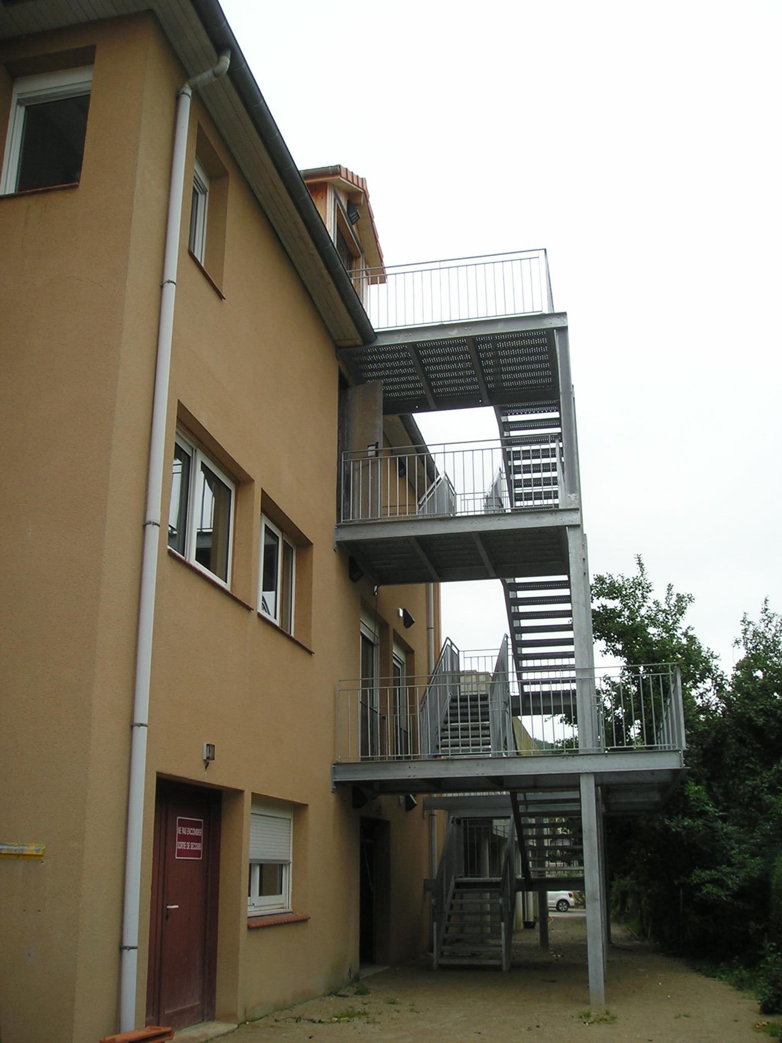 Escalier Extérieur EHPAD