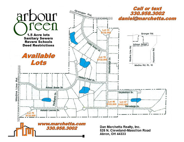 Arbour Green Mailbox Flyer with Prices 6