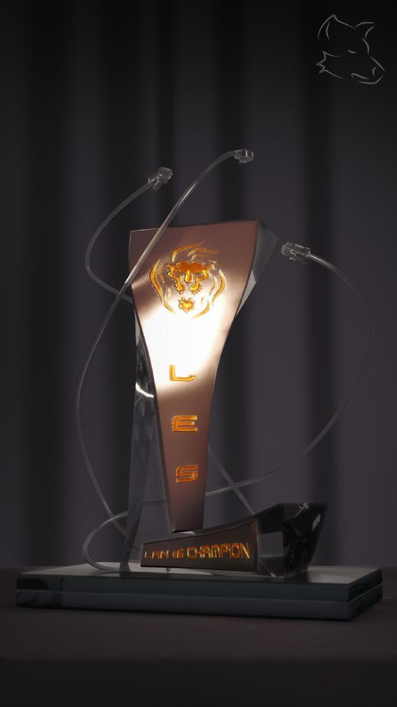 PackShot Trophée