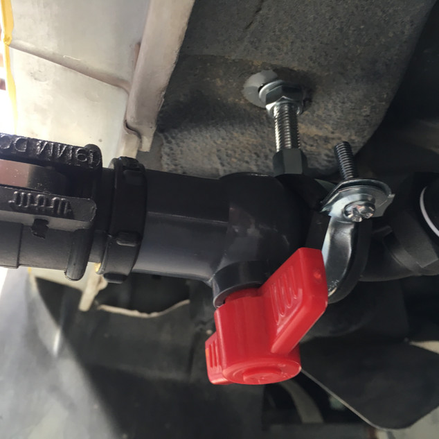 Grey water valve