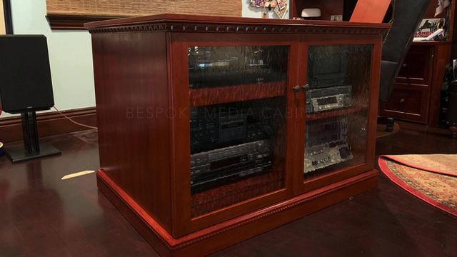 Custom Media Cabinet