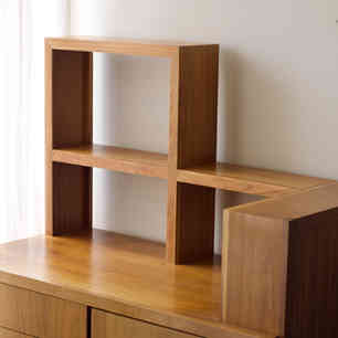 Repurposed custom office furniture