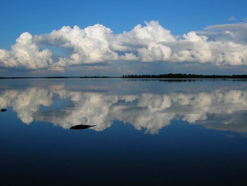 озеро Лоухское