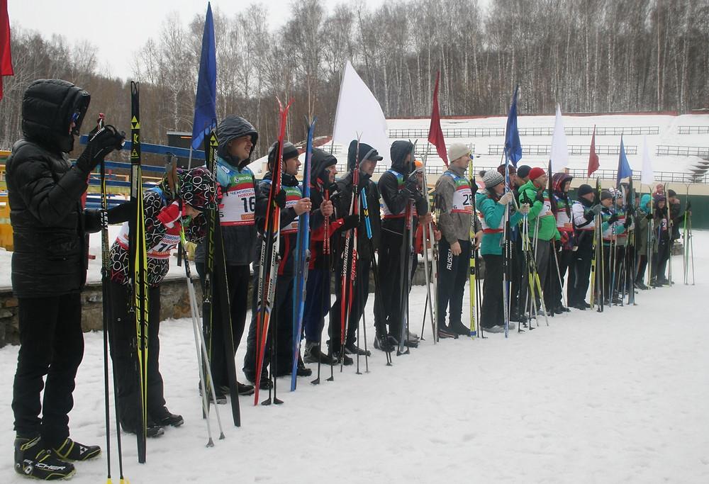 24 марта, старт турнира по биатлону среди судей и работников судов Новосибирской области