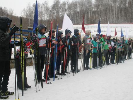 Турнир по биатлону среди судей и работников судов Новосибирской области.