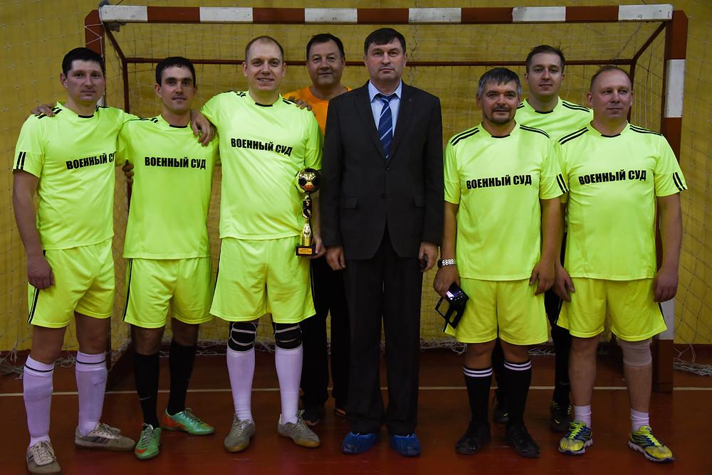 Одна из команд турнира в Новосибирске