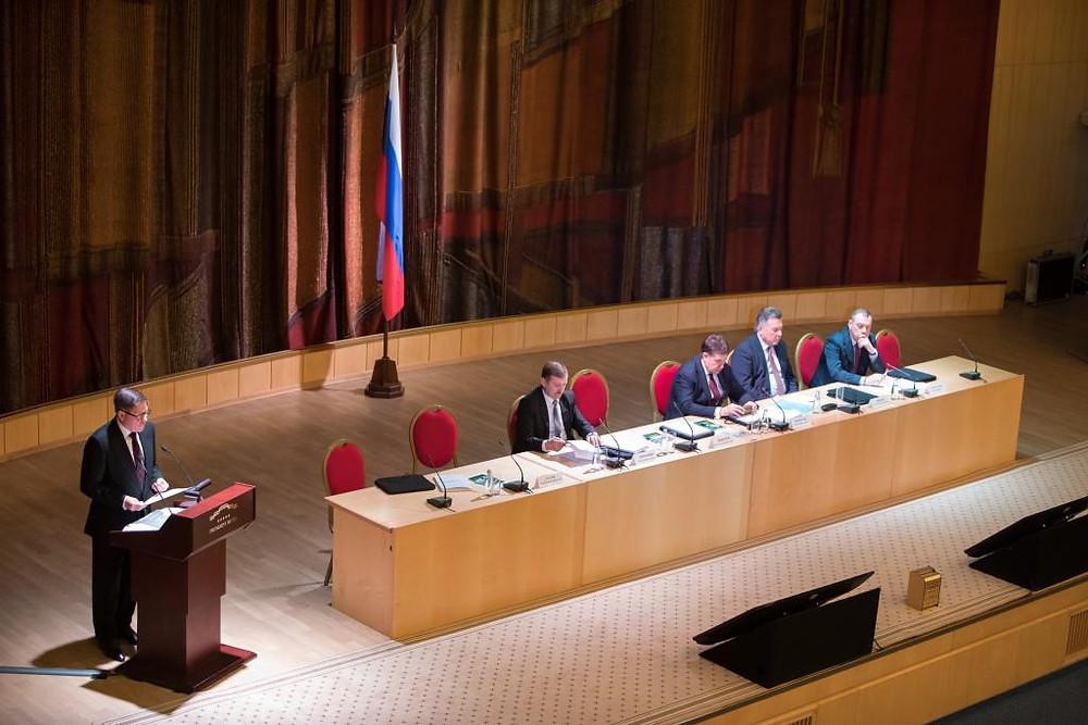 Выступление Председателя Верховного суда Лебедева В.М.