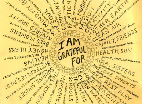 Art Therapy: Gratitude Wheel