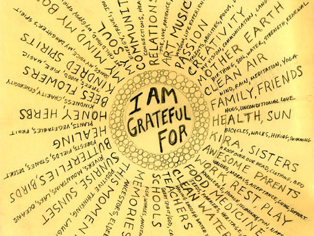 Art Therapy: Gratitude Wheel