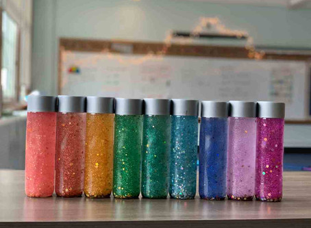 Art Therapy: Calming Bottles