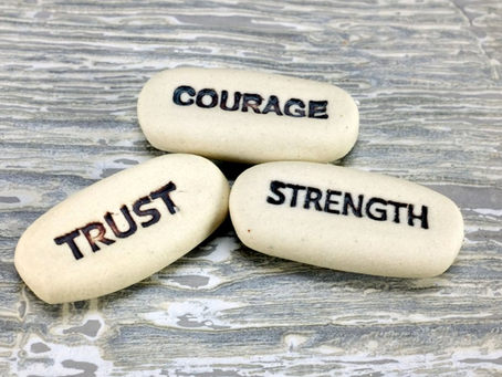 Art Therapy: Stones of Strength