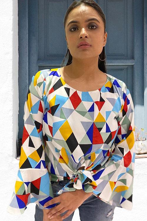 Geometric Multi Colour Knot Top